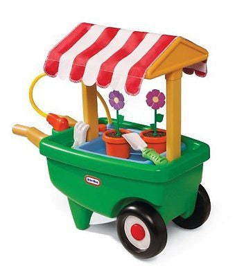 Little Tikes 2-in-1 Garden Cart and Wheelbarrow