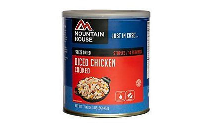 Mountain House Diced Chicken Cooked