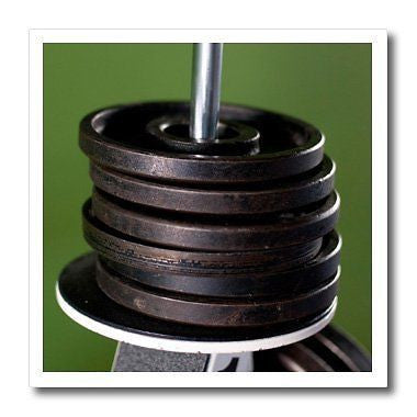 Danita Delimont - Matt Freedman - Objects - Close-up of gym weightlifting