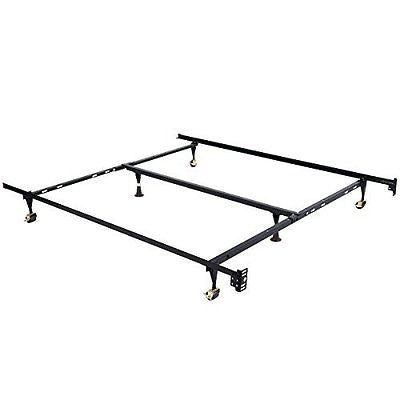 Giantex Metal Bed Frame Adjustable Queen Full Twin Size w/ Center Support