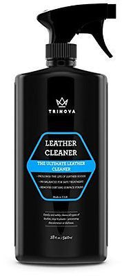 Leather Cleaner - For Furniture, Sofa, Shoes, Car Care, Handbags, Purses