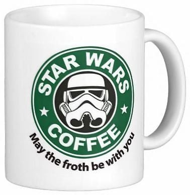 11OZ Coffee Mug - May The Froth Be With You - Perfect for birthday present