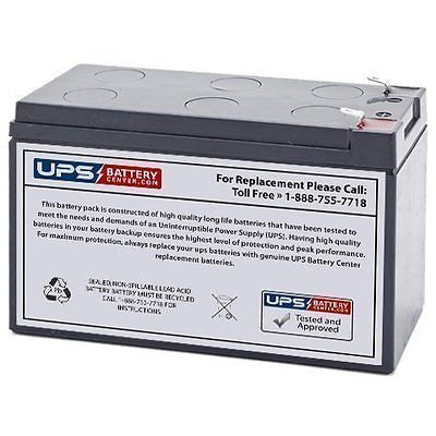12V 7.2AH SLA Battery Replaces Lowrance Elite-3x Fishfinder
