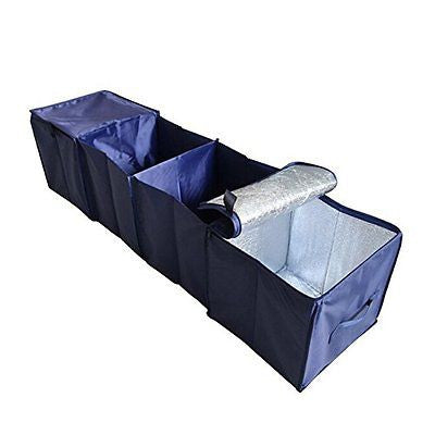 Yaha Foldable Car Auto Seat Storage Save Space Food Travel Storage Container