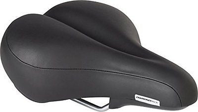 Diamondback Men's Pillow Top Bicycle Saddle Black
