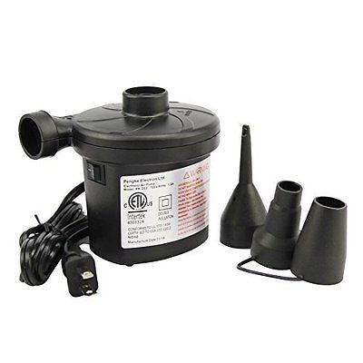 Fancy Buying Ac Electric Air Pump Inflator + 3 Nozzles Airbed Mattress Boat