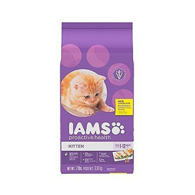 IAMS Proactive Health Kitten Adult Dry Cat Food