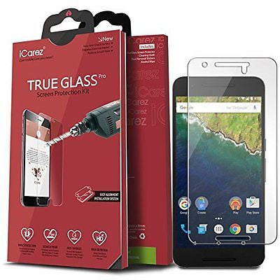 iCarez [Tempered Glass] Screen Protector for Huawei Google Nexus 6P Easy Install
