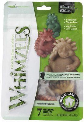 Paragon Whimzees Hedgehog Dental Treats for Dogs