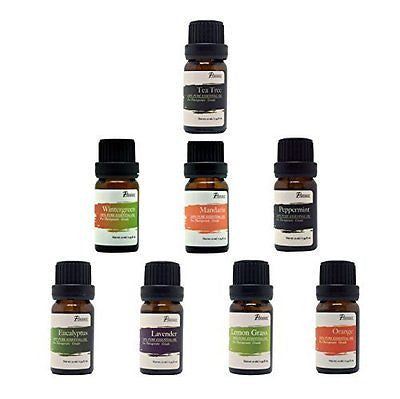 :Pursonic 100% Pure Essential Aromatherapy Oils Gift Set-8 Pack