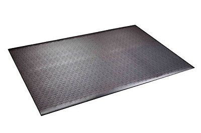 Supermats Solid Heavy Duty P.V.C. Mat for Home Gyms/Weightlifting Equipment