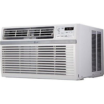 LG LW8015ER 8000 BTU 115V Window-Mounted Air Conditioner with Remote Control