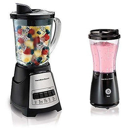 Hamilton Beach 58148 + 51103 Countertop & Personal Blender Smoothie Mixer