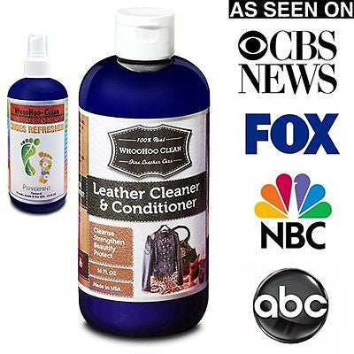 Leather Conditioner. Leather Cleaner. Leather Care. Mega Size 16 FL OZ.