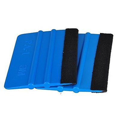 10Pcs/Lot car vinyl film wrapping tools 3m squeegee with felt soft wall paper