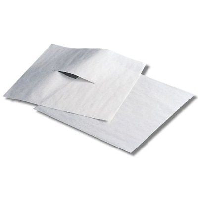Humactive Massage and Chiropractic Table Headrest Tissue Sheets With Face Slit