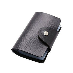 Ottiman 24 Card Slots Blocking Credit Card Holder Leather Multi Business Card
