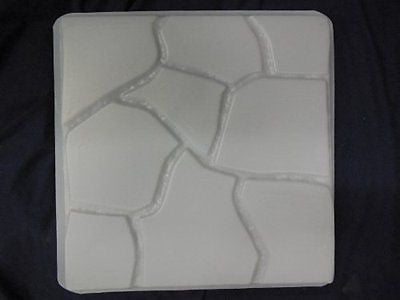 Flagstone Degisn 18in Sq Stepping Stone Concrete Mold 2029
