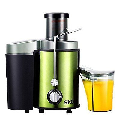 SKG Premium 22,000 RPM High Yield Stainless Steel Wide Mouth Juice Extractor (Me