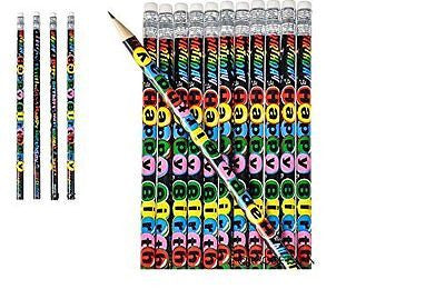(48) HAPPY BIRTHDAY PENCILS ~ Birthday Party Favors Goody Bag Filler ~ EASTER