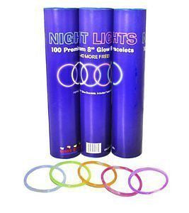 Glow Stick Bracelets- Tube of 100 8