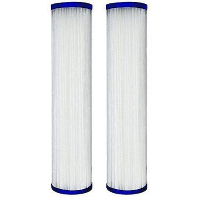 WFPFC3002 Universal Whole House Pleated Poly Cartridge, 2-Pack