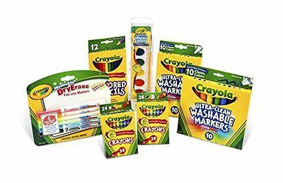 Crayola Back To School Washable Pack for Grades K-2