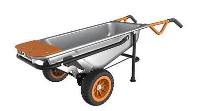 WORX Aerocart Multifunction Wheelbarrow Dolly and Cart