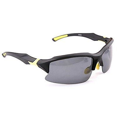 Cycling Sports Sunglasses Polarized Safety Glasses UV400 Outdoor Black