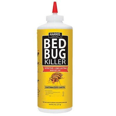 Harris Bed Bug Diatomaceous Earth Powder, 8oz