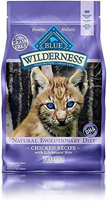 Blue Buffalo Wilderness High Protein Dry Kitten Food