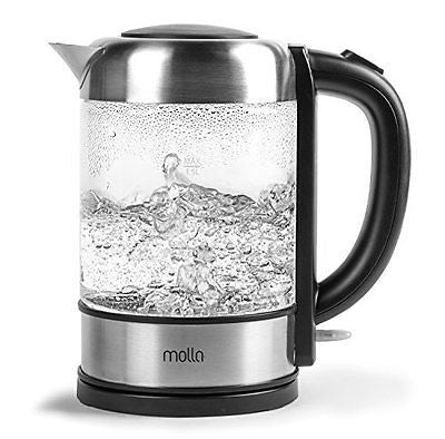 Molla P¨²ro Cordless Glass Electric Water Kettle