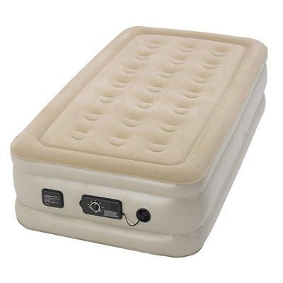 Serta Raised Air Mattress with Never Flat Pump