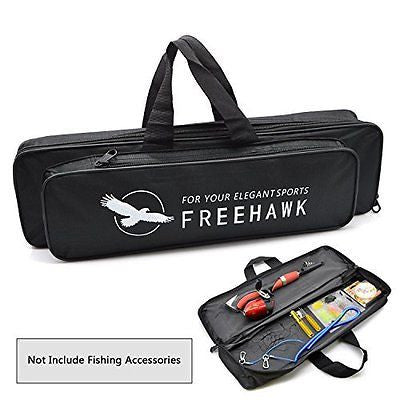 Fishing Bag Fishing Rod Bag Fishing Gear Organizer Carrier Bag Tackle Bag Freeh