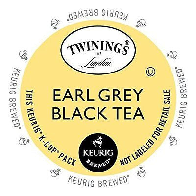 Twinings Earl Grey Tea Keurig K-Cups 24 Count