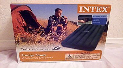 Intex Camp Air Bed with Pump TWIN