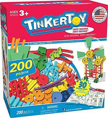 TINKERTOY 30 Model Super Building Set