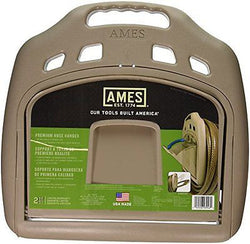Ames True Temper 2382561 Premium Hose Hanger with Storage Tan 150-Feet