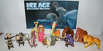 Ice Age Collision Course Movie Deluxe Party Favors Goody Bag Fillers Set of 13