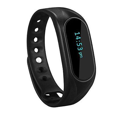 CUBOT Wireless Activity Wristband, Smart Fitness Tracker with a Pedometer, Step