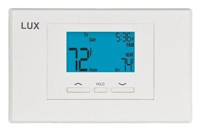 Lux Products TX500U Universal 5-2 Programmable Thermostat