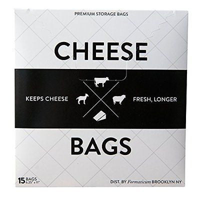 Formaticum Cheese Storage Bags 15 Count