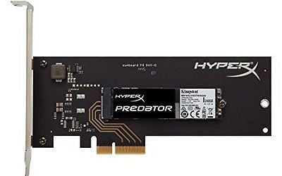 Kingston Digital HyperX Predator 240 GB PCIe Gen2 x4 Solid State Drive 8-Inch