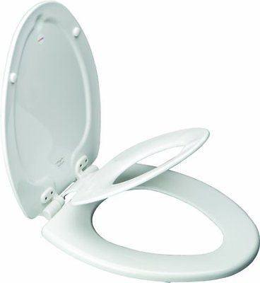 Mayfair 183SLOWA NextStep Adult Toilet Seat with Built-in Child Potty Training