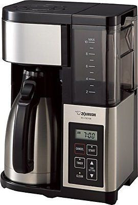 Zojirushi EC-YSC100 Fresh Brew Plus Thermal Carafe Coffee Maker, 10 Cup