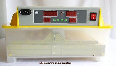 A&I 56 Egg Digital Incubator / Hatcher AUTOMATIC TURNER Avian Poultry Local USA