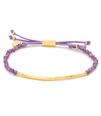 Taner Gemstone Bar Bracelet
