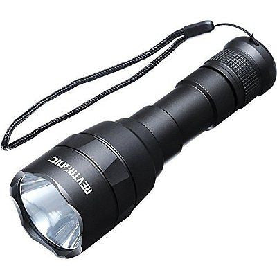Revtronic 800 Lumens Rechargeable Flashlight, Cree XM-L2 LED Ultra Powerful