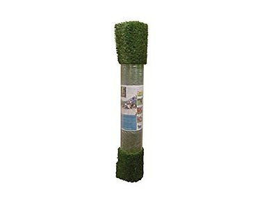Everlast Synthetic Grass 1.5 In., 5 Ft. X 10 Ft. Olive Green