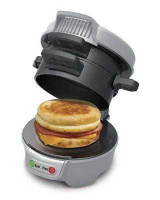 Hamilton Beach 25475 Breakfast Sandwich Maker Gray